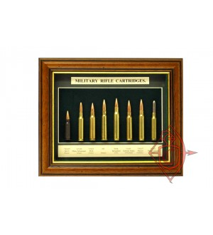 Дисплей Military Rifle Cartridges (M12)