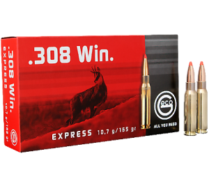 Патрон нарезной GECO .308 Win. EXPRESS