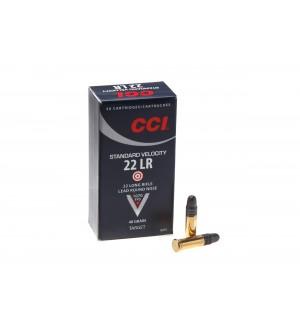 Патрон нарезной CCI Standart Velocity 22LR пуля LRN