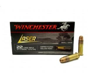 Патрон нарезной Winchester Laser 22 LR пуля CPHP