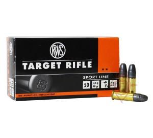 Патрон нарезной RWS Target Rifle 22LR