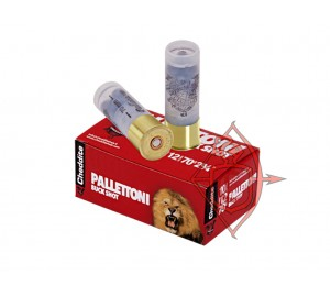 Патрон гладкоствольный Cheddite BUCK SHOT PALLETTONI  кал. 12/70 №7/0