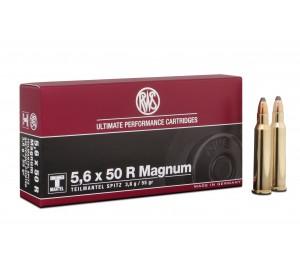 Патрон нарезной RWS 5,6x50 R Magnum пуля TM