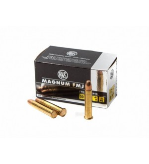 Патрон нарезной RWS Magnum 22 WMR пуля FMJ