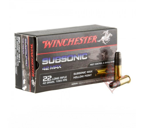Winchester Subsonic 22 LR пуля SMHP