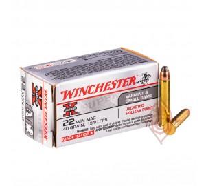 Патрон нарезной Winchester Super-X 22 WMR пуля JHP