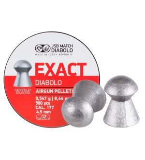 Пульки JSB Diabolo Exact к. 4,5 мм.